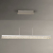 Buy John Lewis Melody Crystal LED Diner Ceiling Light, Crystal Clear Online at johnlewis.com