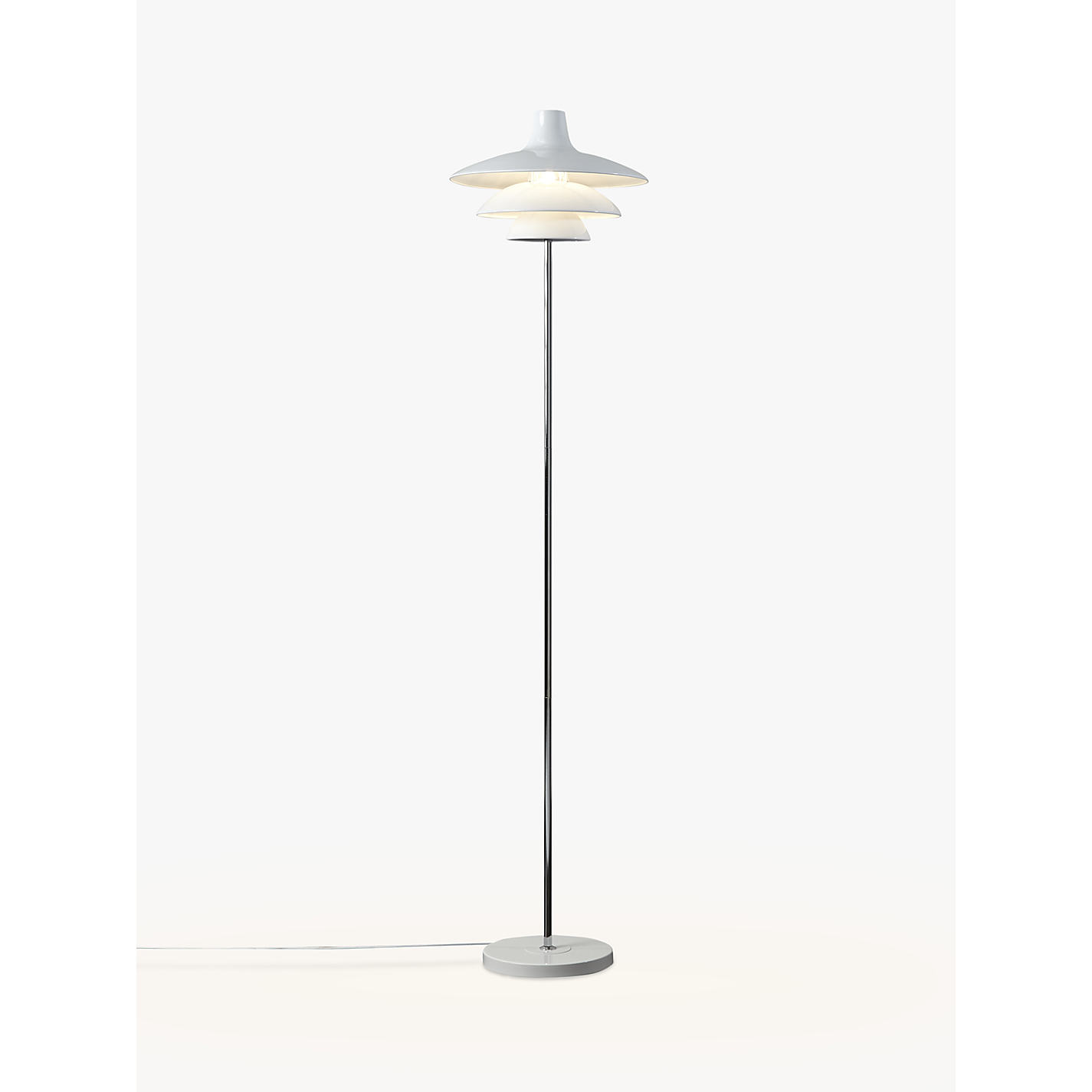 Buy house by john lewis harvey floor lamp white john lewis buy house by john lewis harvey floor lamp white online at johnlewis geotapseo Image collections