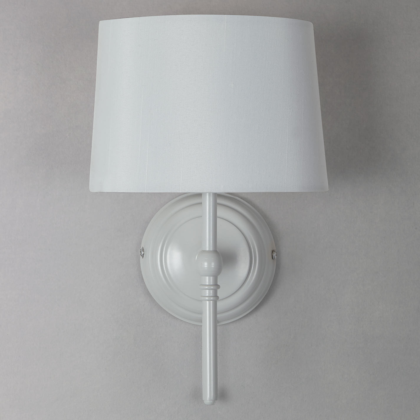 Buy john lewis isabel wall light 1 light grey john lewis buy john lewis isabel wall light 1 light grey online at johnlewis geotapseo Image collections