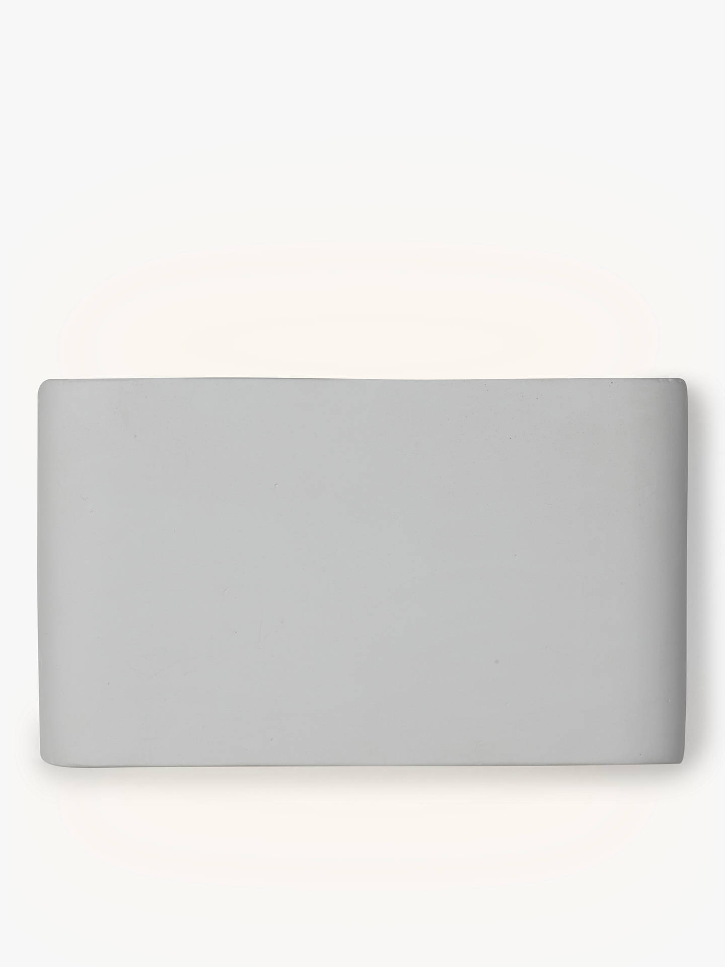 Buy John Lewis & Partners Linton LED Wall Light, White Online at johnlewis.com
