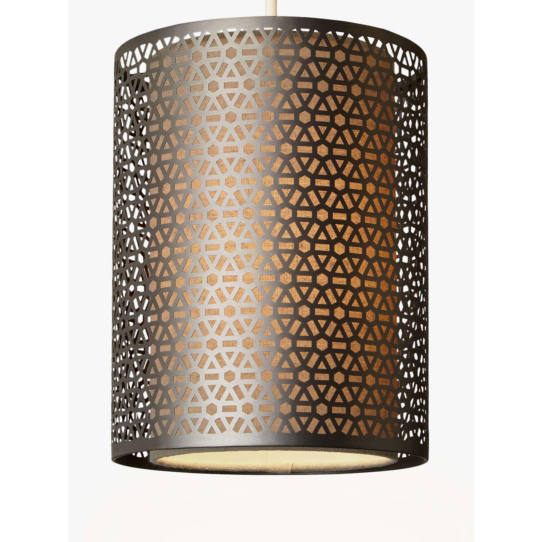 easy lighting. BuyJohn Lewis Meena Easy-to-Fit Pendant Light, Brushed Steel Online At Johnlewis Easy Lighting