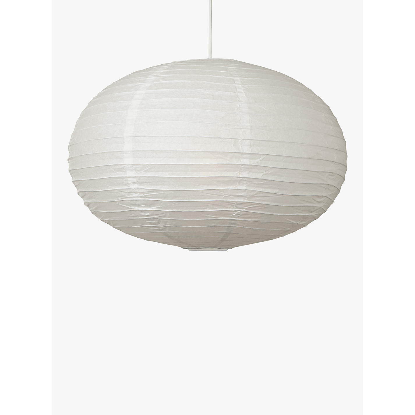 Buy house by john lewis easy to fit paper oval ceiling light buy house by john lewis easy to fit paper oval ceiling light white mozeypictures Images