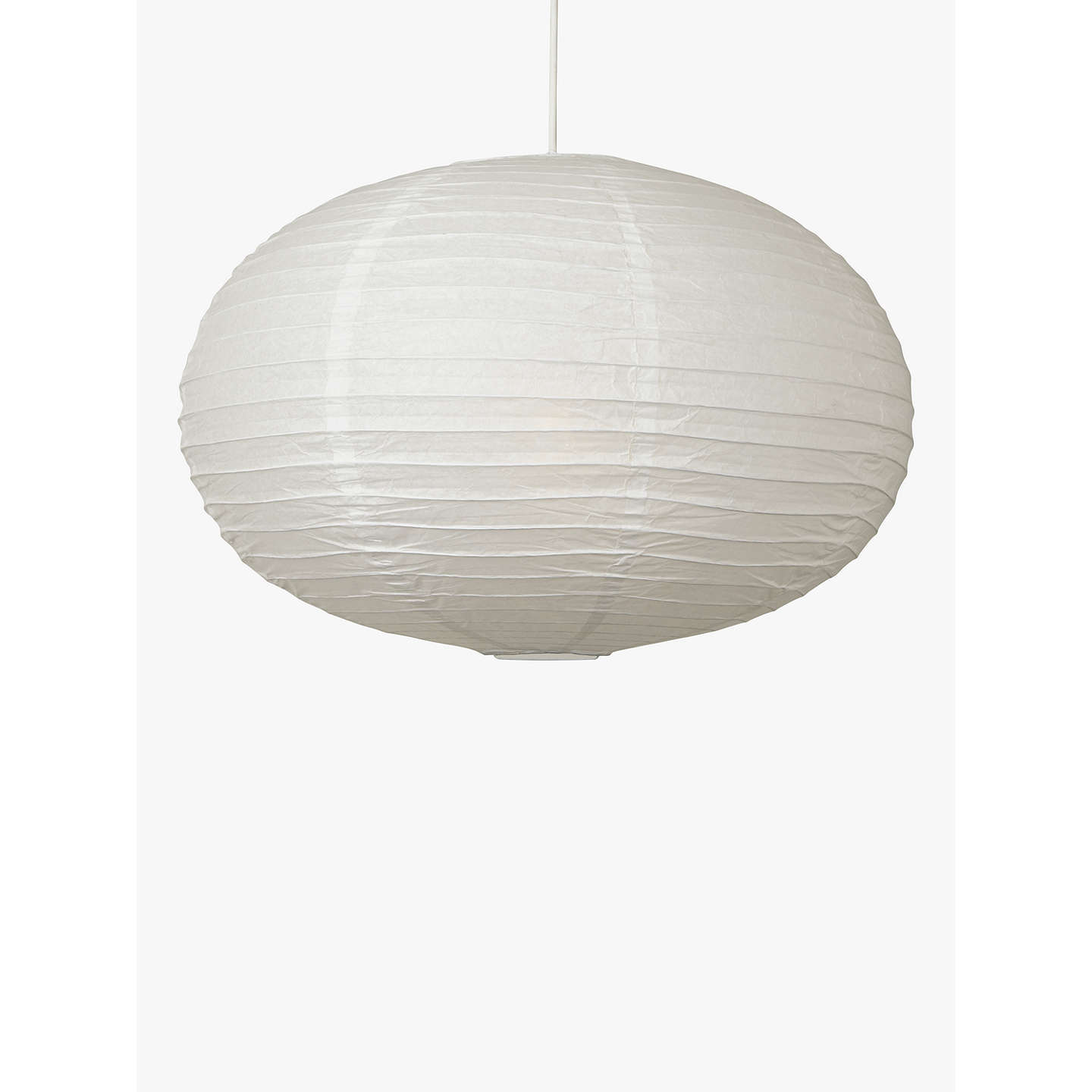 House by john lewis easy to fit paper oval ceiling light white at buyhouse by john lewis easy to fit paper oval ceiling light white online mozeypictures Image collections