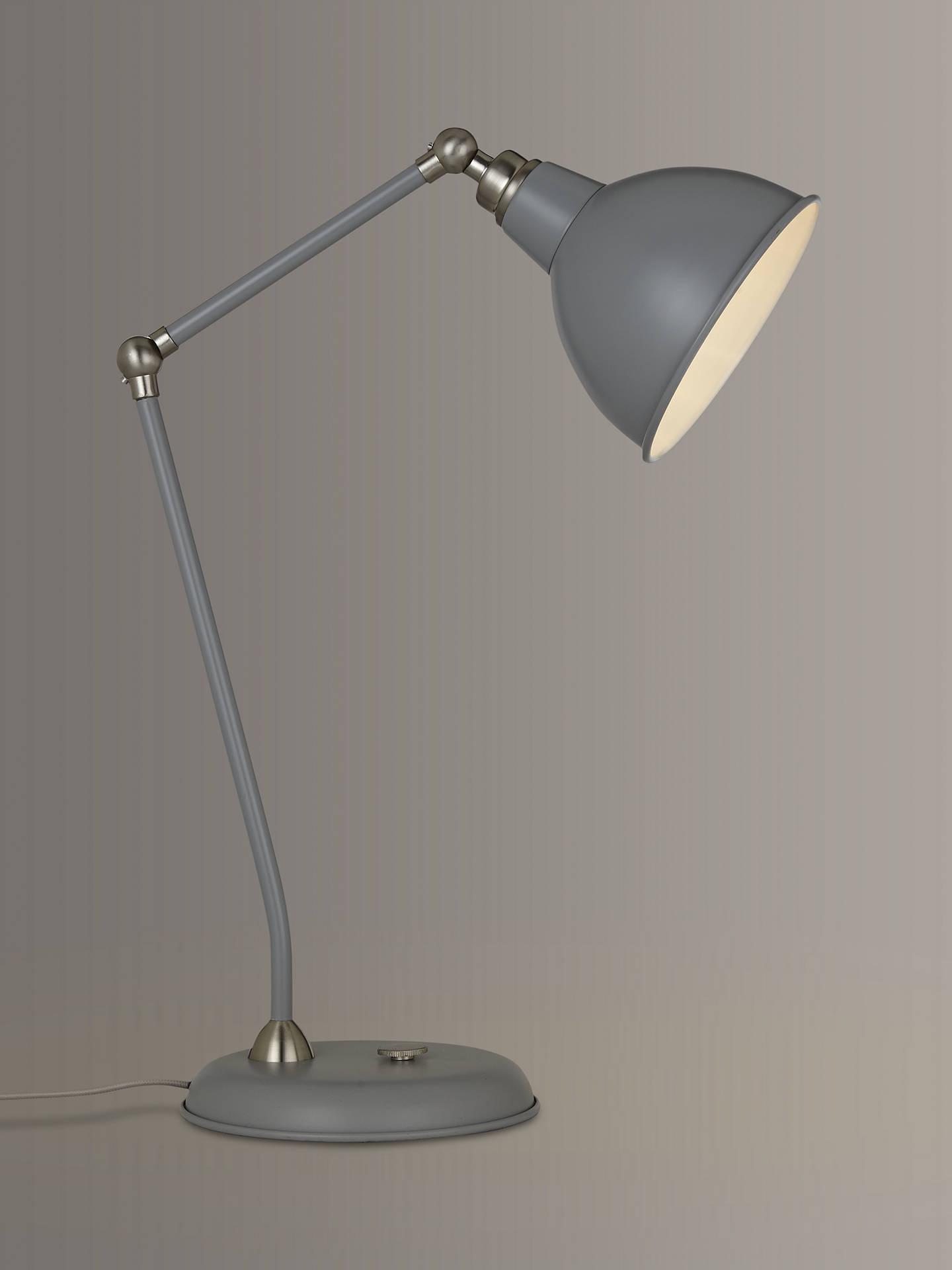 Buy Satin Nickel Table Top Lamp | Buy