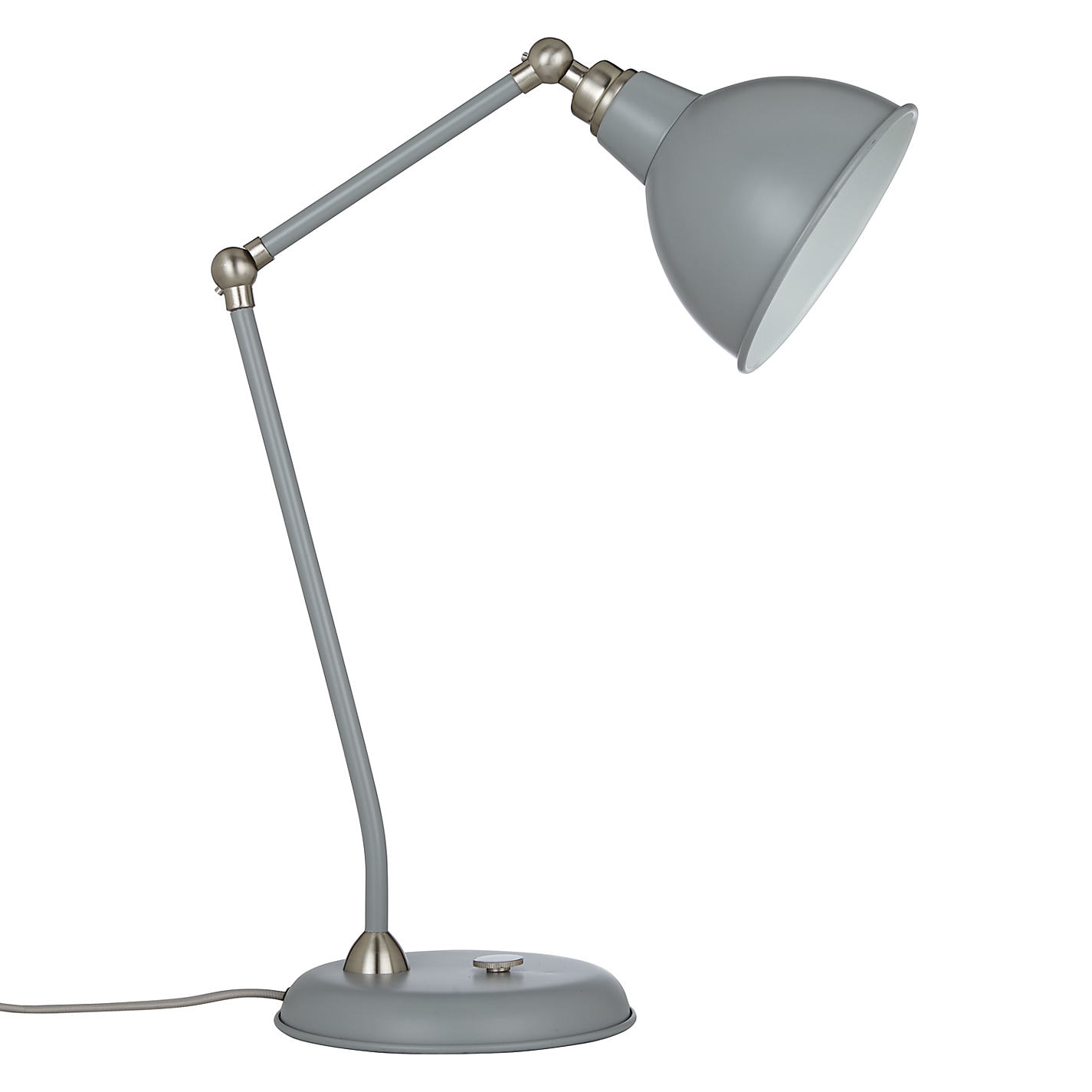 Buy john lewis aiden table lamp satin nickel john lewis buy john lewis aiden table lamp satin nickel online at johnlewis geotapseo Image collections