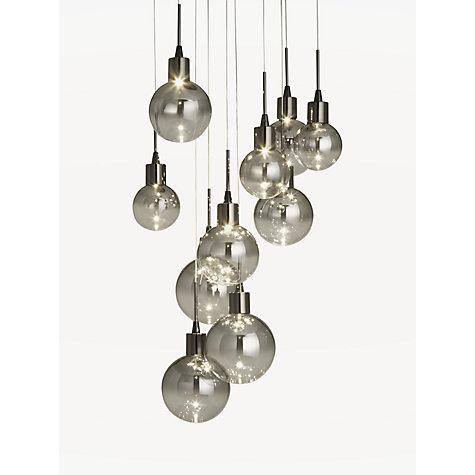 Bathroom Ceiling Lights John Lewis buy john lewis dano led ombre glass ceiling light, 10 light, black
