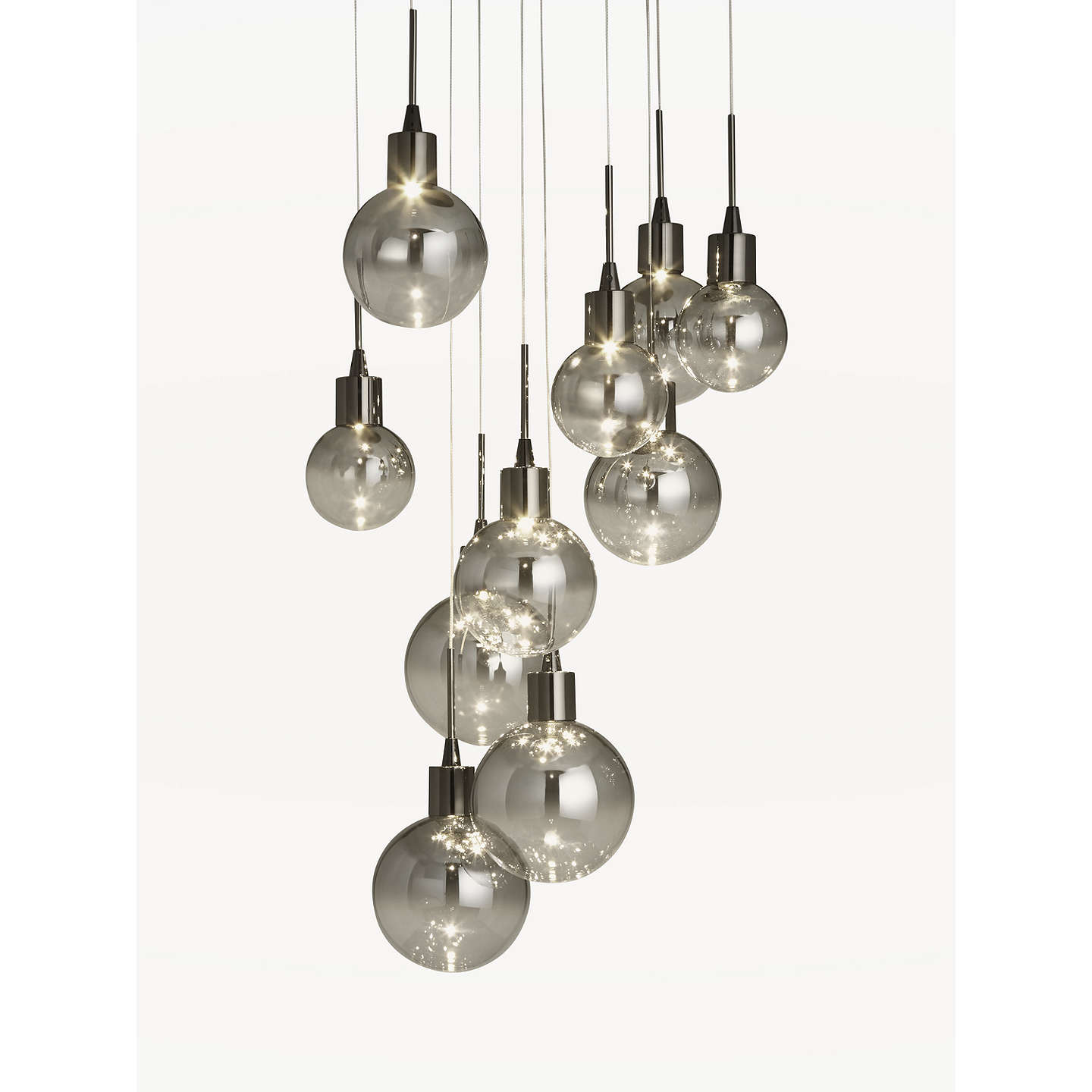 John lewis dano led ombre glass ceiling light 10 light smoke at buyjohn lewis dano led ombre glass ceiling light 10 light smoke online at johnlewis aloadofball Image collections