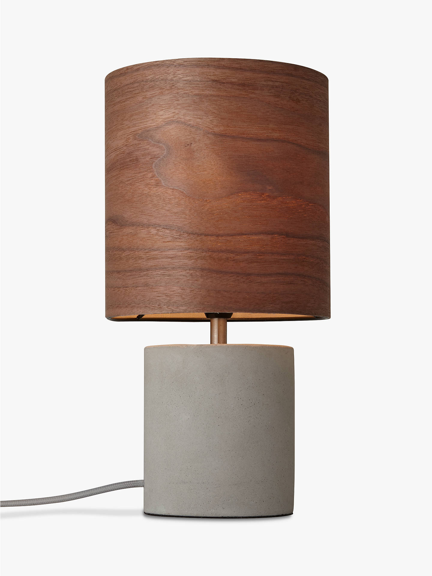 Design project by john lewis no047 table lamp walnut veneer at buydesign project by john lewis no047 table lamp walnut veneer online at johnlewis aloadofball Choice Image