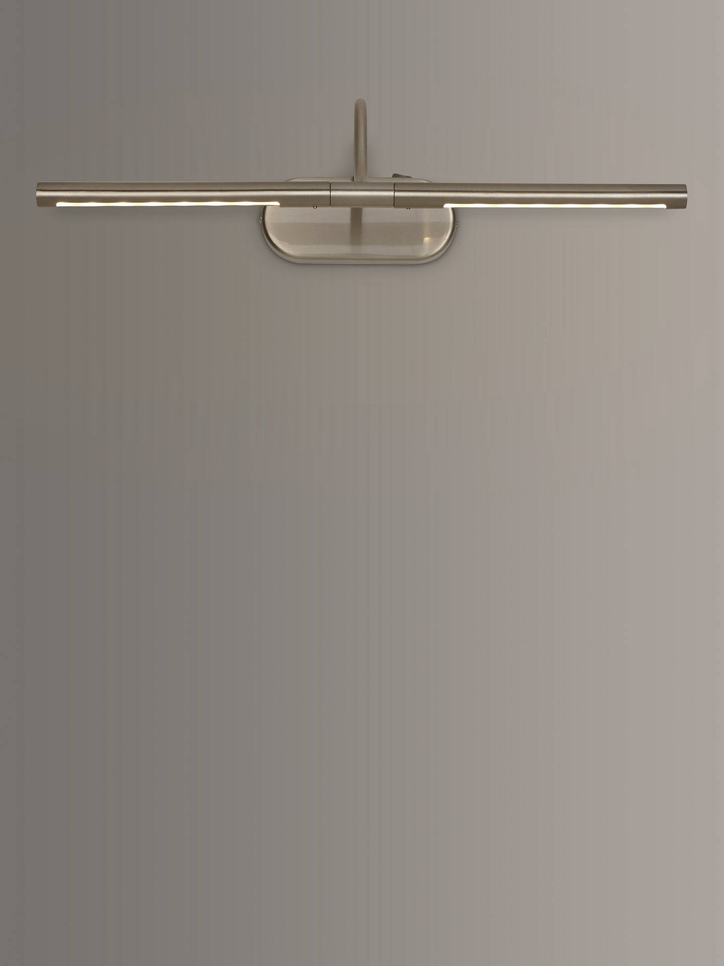 Buy John Lewis & Partners Litho LED Wall Light, Satin Nickel Online at johnlewis.com