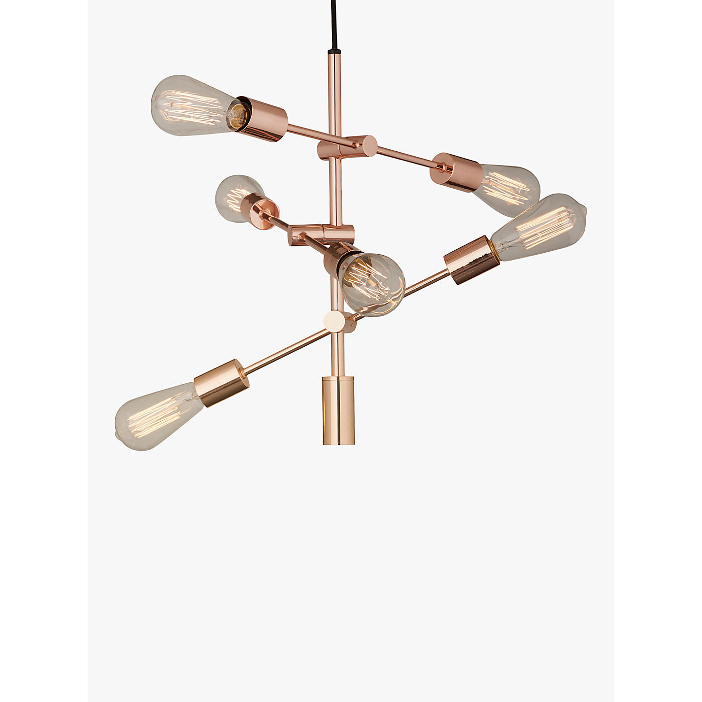 Buy house by john lewis elias retro pendant ceiling light copper buy house by john lewis elias retro pendant ceiling light copper online at johnlewis aloadofball Gallery