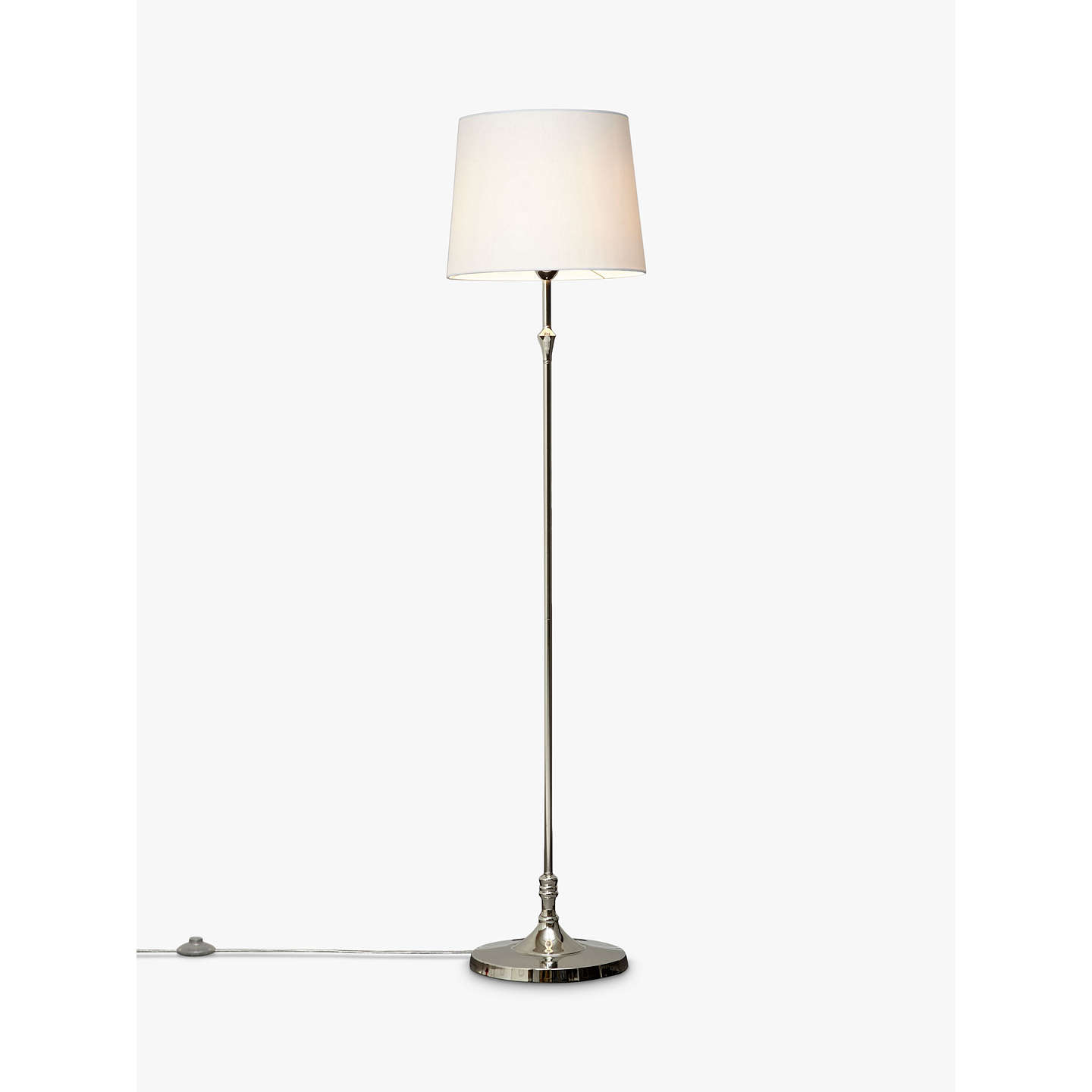 John lewis cleo floor lamps nickel at john lewis buyjohn lewis cleo floor lamps nickel online at johnlewis mozeypictures