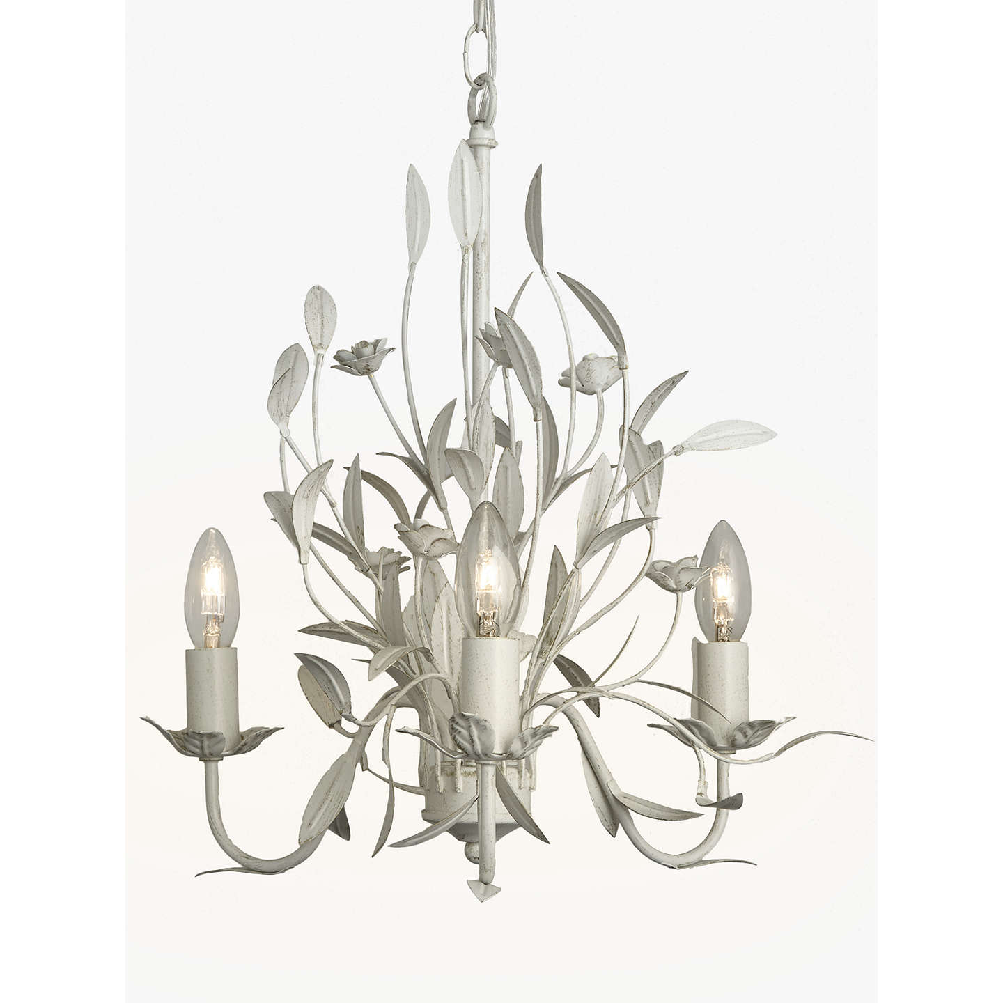 John lewis lily ceiling light 3 arm ivory at john lewis buyjohn lewis lily ceiling light 3 arm ivory online at johnlewis aloadofball Gallery