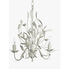 Adjustable chandelier ceiling lighting john lewis buy john lewis lily ceiling light 3 arm ivory online at johnlewis mozeypictures Gallery