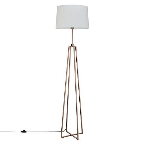 Buy john lewis lockhart floor lamp john lewis for Copper floor lamp john lewis