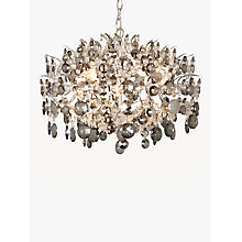 Buy John Lewis Paris Smoke & Clear Crystal Ceiling Light Online at johnlewis.com