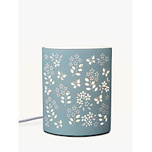 Buy John Lewis Shannon Table Lamp, Duck Egg Online at johnlewis.com
