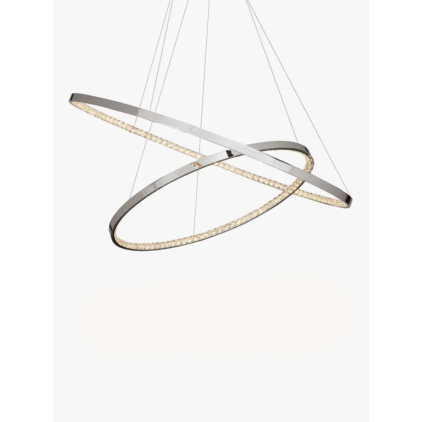 John lewis zephyr led dual ring pendant ceiling light chrome at buyjohn lewis zephyr led dual ring pendant ceiling light chrome online at johnlewis mozeypictures