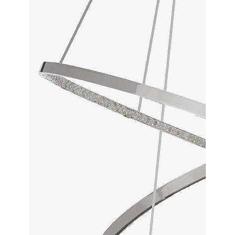 Buy John Lewis Zephyr Led Dual Ring Pendant Ceiling Light
