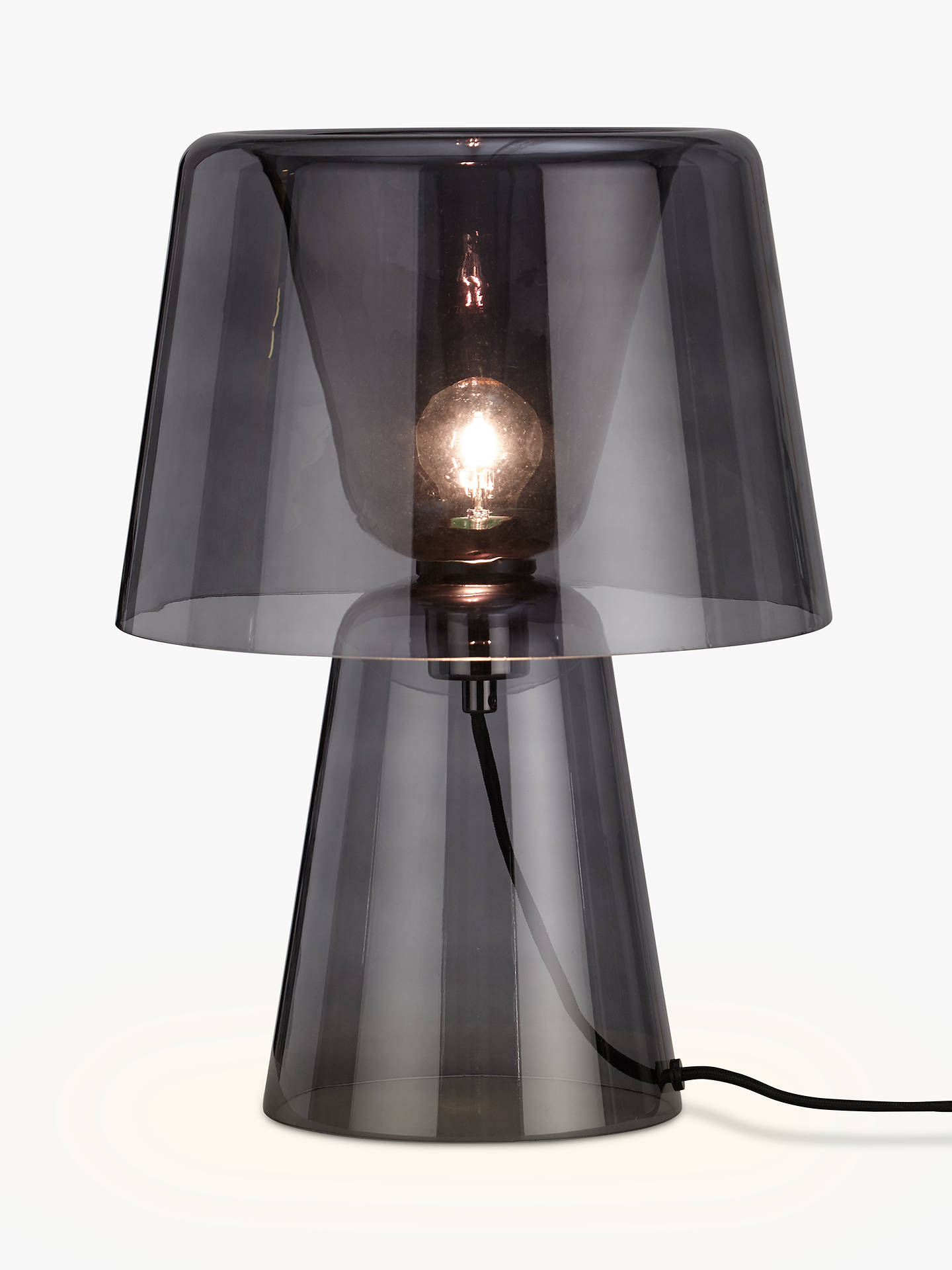 Design project by john lewis no001 large glass table lamp at john buydesign project by john lewis no001 large glass table lamp smoke online at aloadofball Choice Image