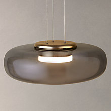Buy Design Project by John Lewis No.014 UFO LED Pendant Ceiling Light, Smoke Online at johnlewis.com