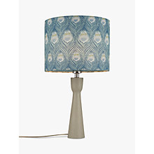 Buy John Lewis Tara Painted Wood Lamp Base Online at johnlewis.com