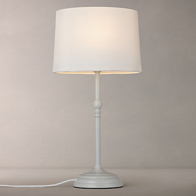 John Lewis Isabel Small Table Lamp, Grey