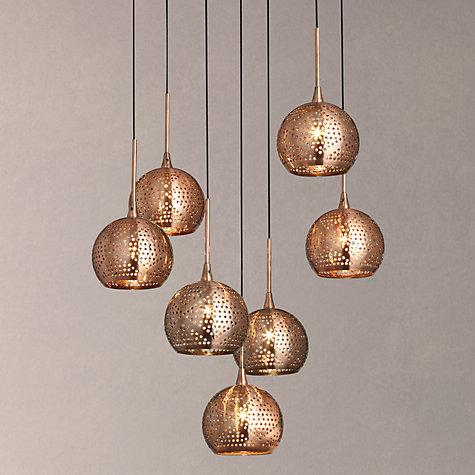 Buy John Lewis Simba Dangles Cluster Ceiling Light 7