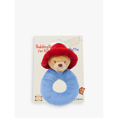 Paddington Bear Soft Ring Rattle