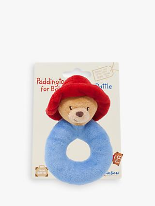 Paddington Bear Soft Ring Rattle