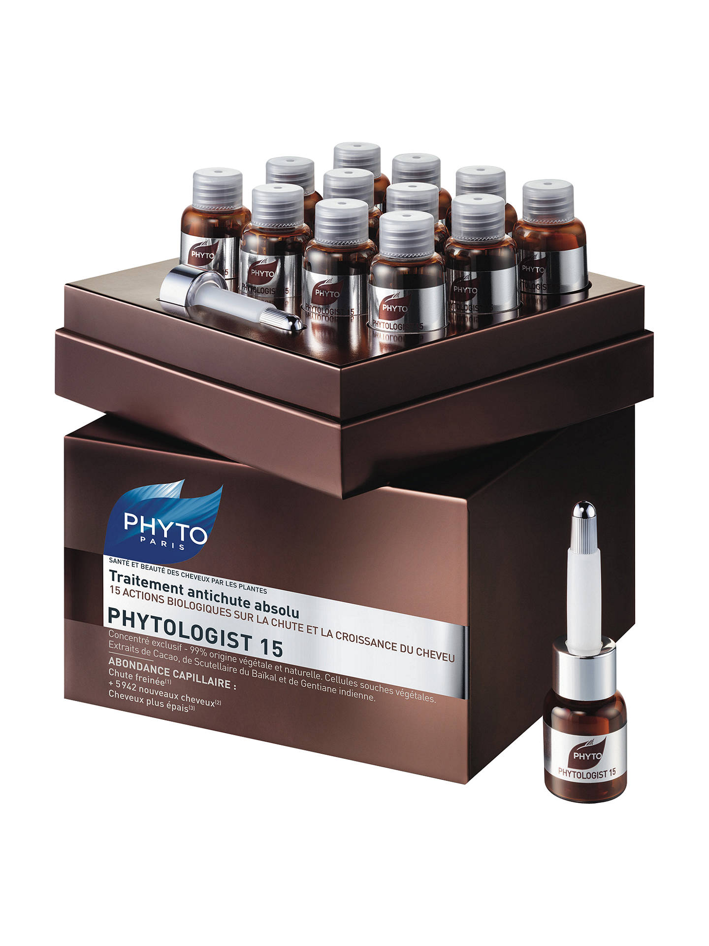 Buy Phyto Phytologist 15 Absolute Anti-Hair Thinning Treatment, 12 x 3.5ml Online at johnlewis.com