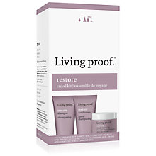 Buy Living Proof Restore Travel Kit Haircare Gift Set Online at johnlewis.com
