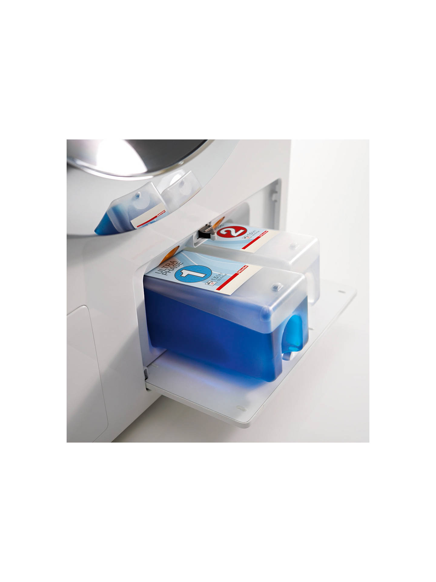 Vásároljon Miele WKH 121 WPS szabadonálló mosógépet, 8 kg terhelés, A +++ energia besorolás, 1600 fordulat / perc centrifuga, fehér online a johnlewis.com webhelyen