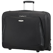 Buy Samsonite X'Blade 3.0 2-Wheel Garment Bag, Black Online at johnlewis.com