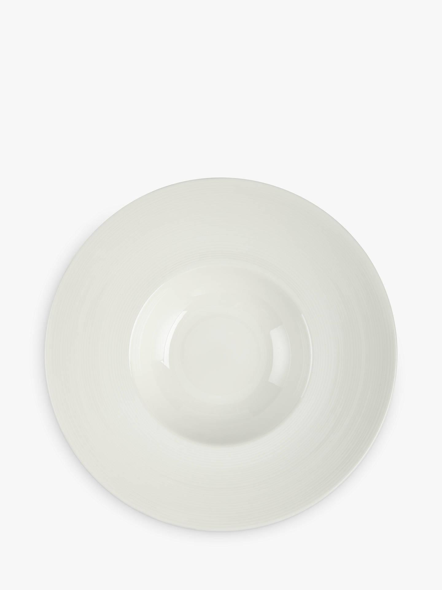 Croft Collection Luna Wide Rim Soup Bowl Natural 28 5cm At John Lewis Partners
