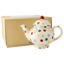 Buy Emma Bridgewater Polka Dot Teapot Online at johnlewis.com