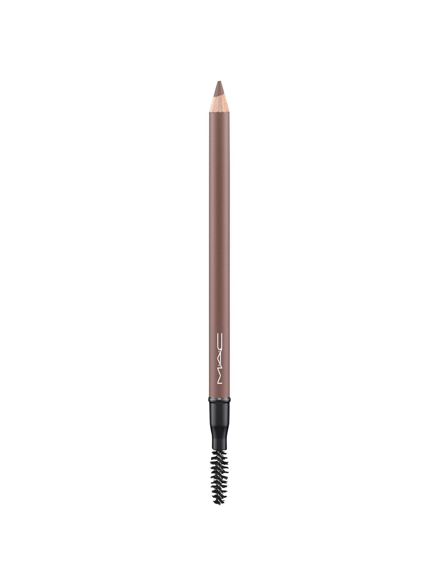 Mac veluxe brow liner fling lipstick