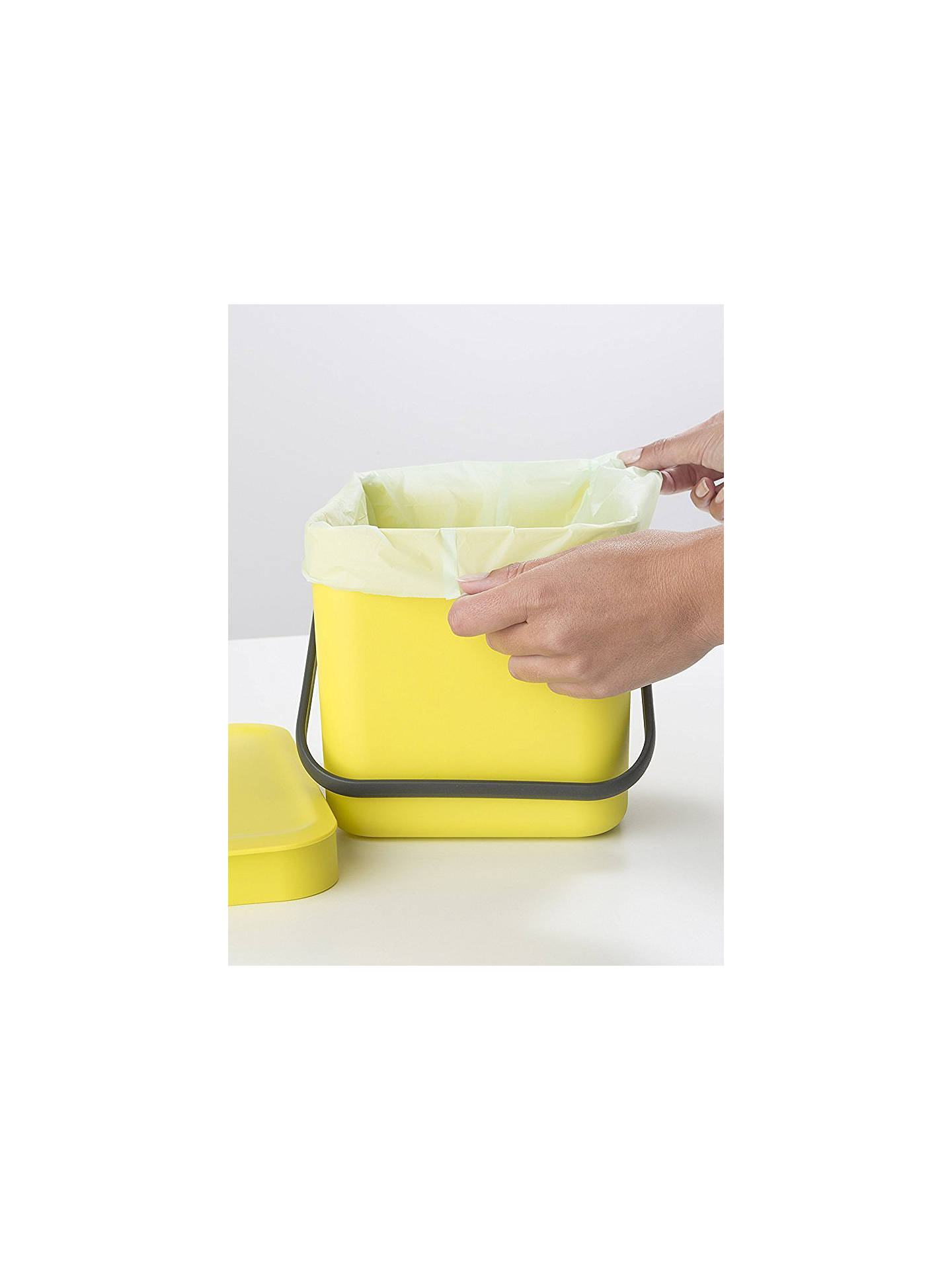 Buy Brabantia Compostable Bin Liners, 6L - Size S, 10 Bags Online at johnlewis.com
