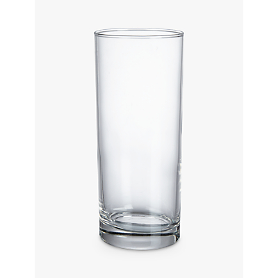 Product photo of John lewis the basics highball set of 4 clear