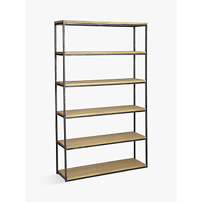 John Lewis & Partners Calia Tall Wide Shelving Unit