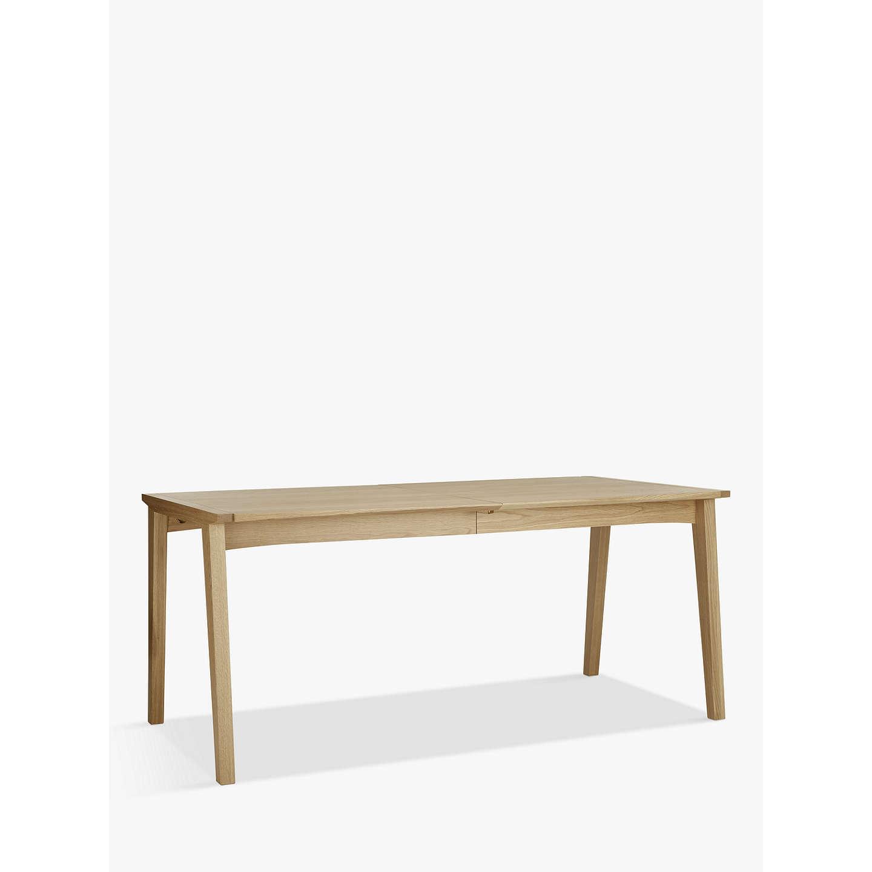 john lewis duhrer 6 10 seater extending dining table at. Black Bedroom Furniture Sets. Home Design Ideas
