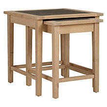Buy John Lewis Croft Collection Lyall Nest of Tables Online at johnlewis.com