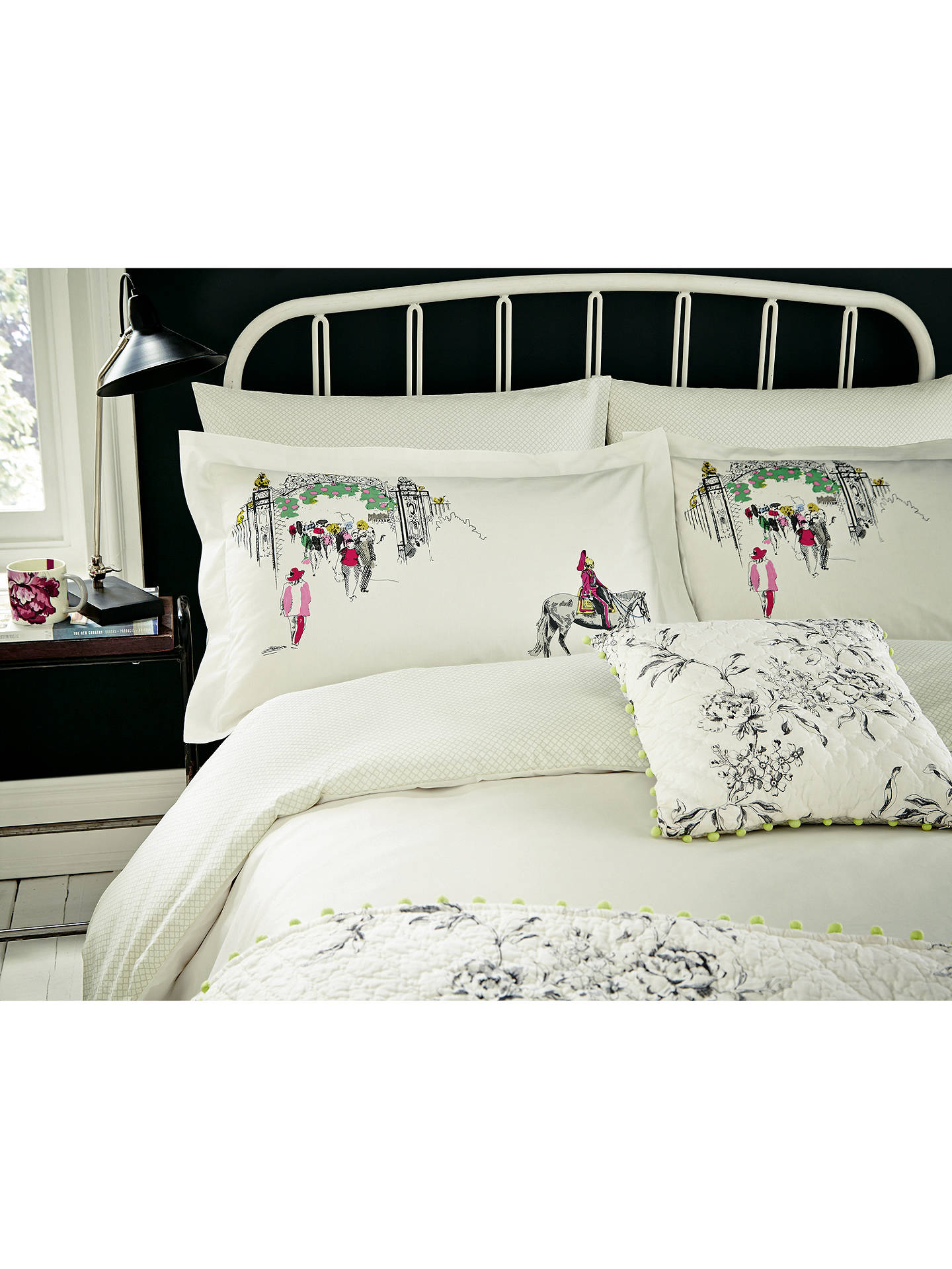 Joules London In Bloom Cushion Online At Johnlewis