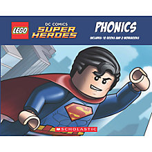 Buy LEGO DC Comics Super Heroes Phonics Box Set Online at johnlewis.com