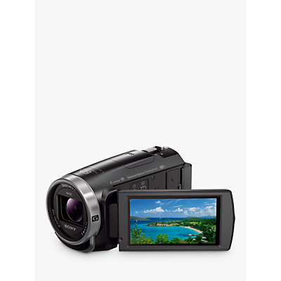 Sony CX625 Handycam With Exmor R CMOS Sensor, Full HD 1080p, 9.2MP, 30x Optical Zoom, Wi-Fi, NFC, 3 LCD Screen, Black