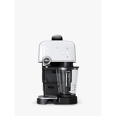 Lavazza A Modo Mio Fantasia Plus Cappuccino Latte Coffee Machine, Ice White