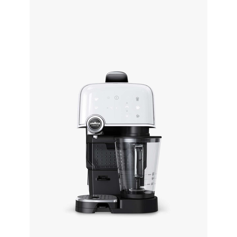 BuyLavazza A Modo Mio Fantasia Plus Cappuccino Latte Coffee Machine, Ice  White Online At Johnlewis ...