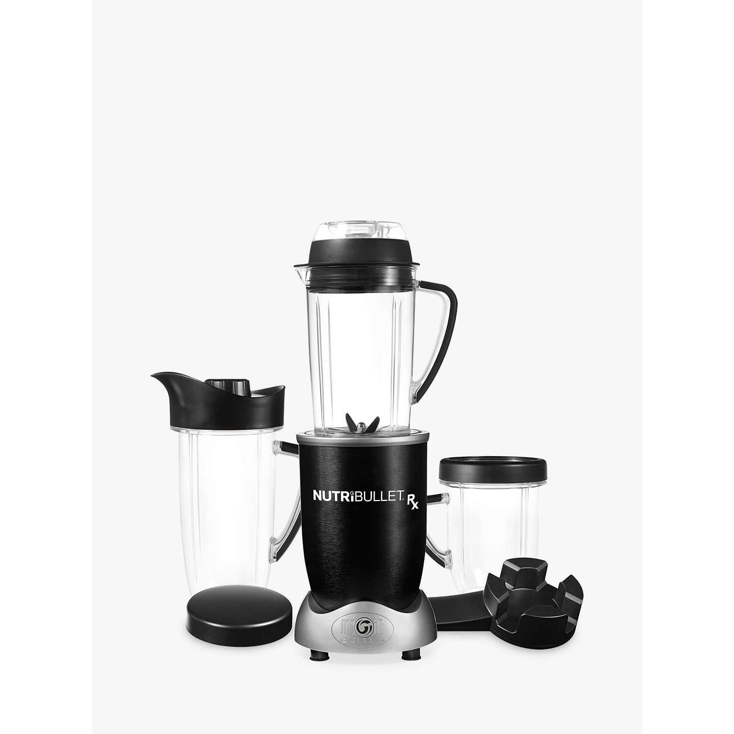 BuyNutriBullet Rx Blender Soup Maker, Black Online at johnlewis.com