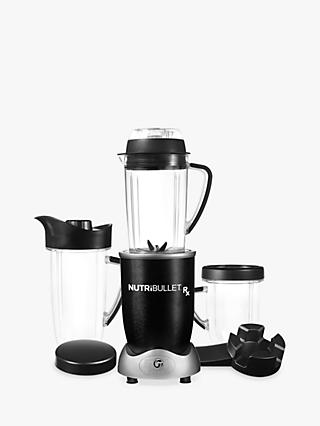 NutriBullet Rx Blender Soup Maker, Black