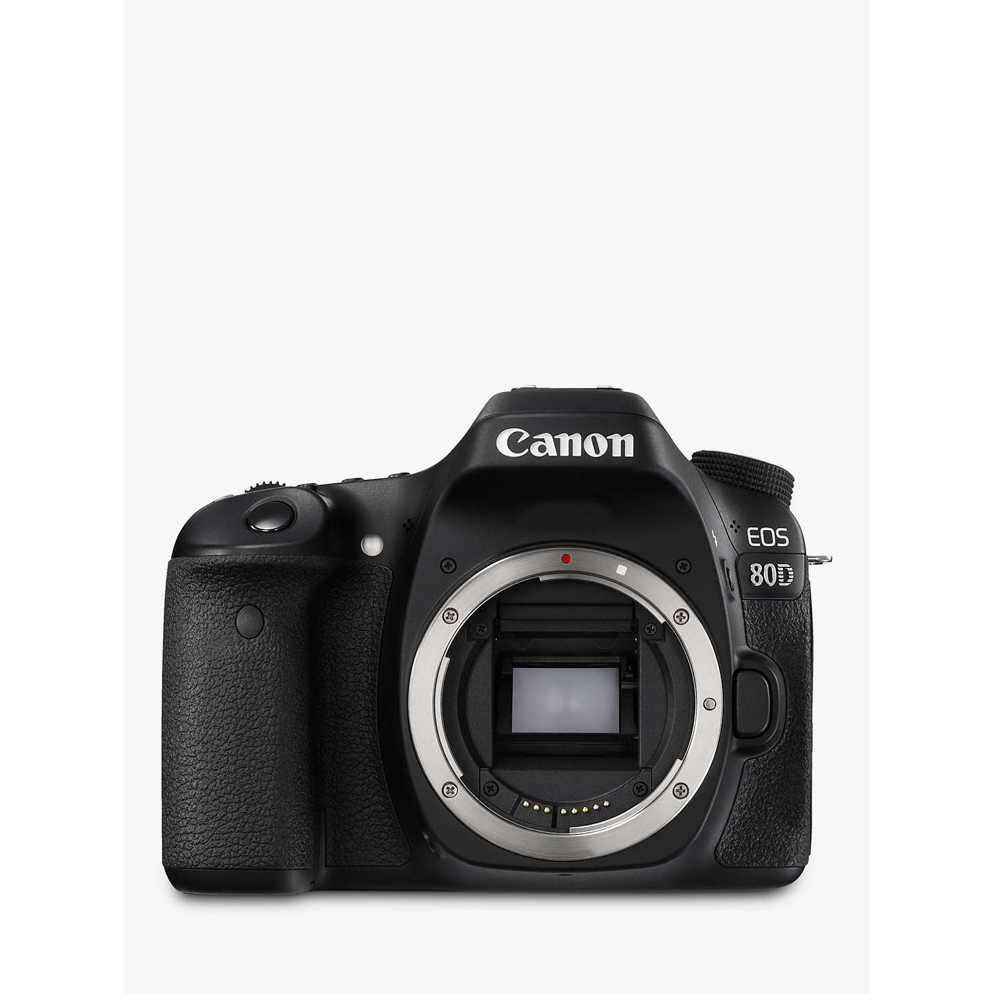 "BuyCanon EOS 80D Digital SLR Camera With 18-55mm Lens, HD 1080p, 24.2MP, Wi-Fi, NFC, 3"" Vari-Angle Touchscreen Online at johnlewis.com"