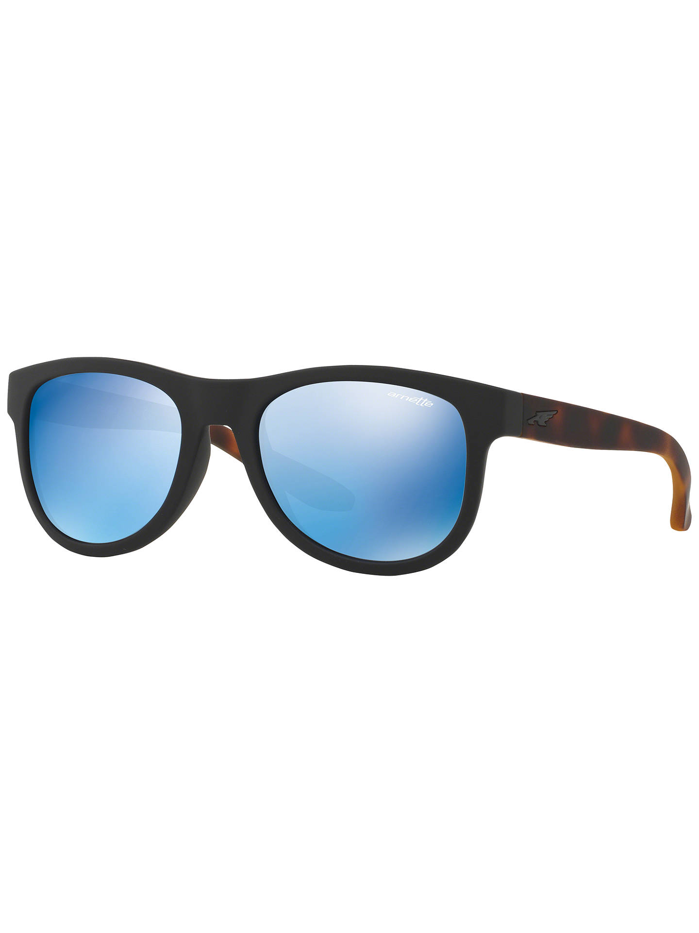 6a25a942b19c4 BuyArnette AN4222 Class Act Oval Sunglasses, Tortoise Blue Online at  johnlewis.com ...